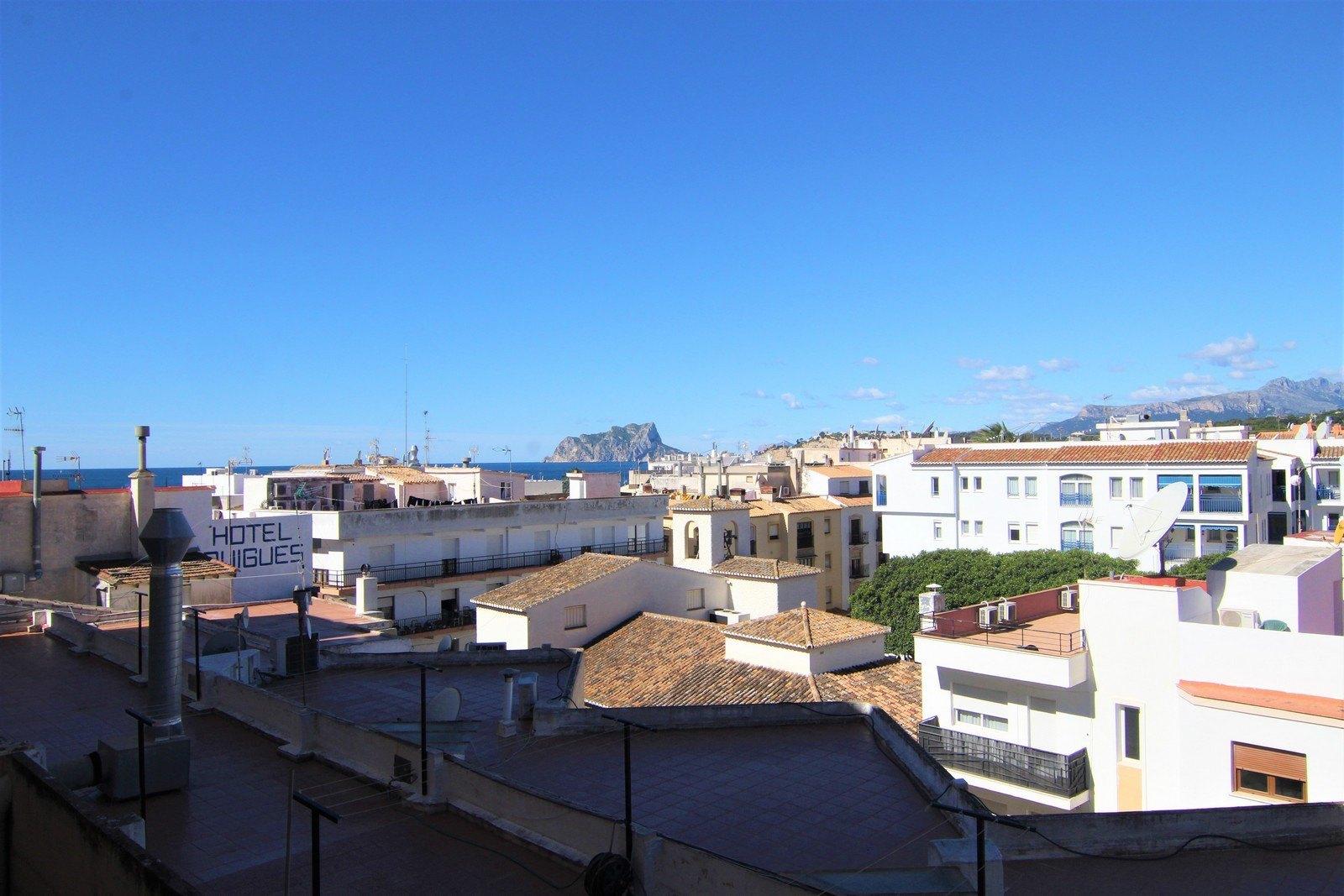 Appartement avec ascenseur à vendre dans le centre de Moraira.