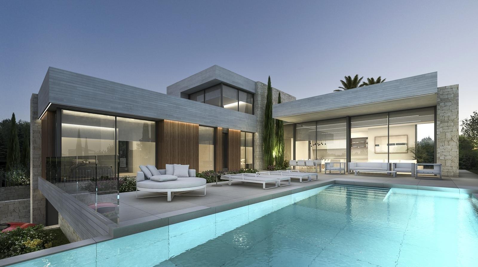 Villa de luxe à vendre à Moraira avec vue sur la mer.